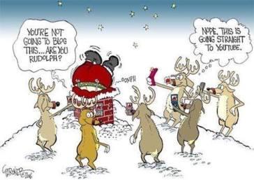 santa funny
